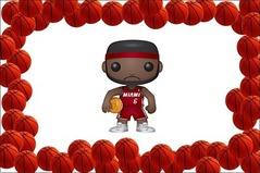 Pop Nba Lebron James Vinyl Figure