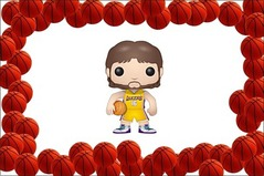 Pop Nba Pau Gasol Vinyl Figure