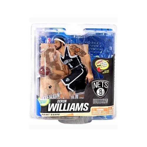Mc Farlane Sportspicks: Nba Series 22 Deron Williams - Brooklyn Nets Chase Variant 6 Inch Action Figure