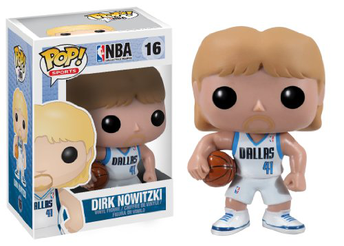 Pop Nba Series 2 Dirk Nowitzk Vinyl Figure